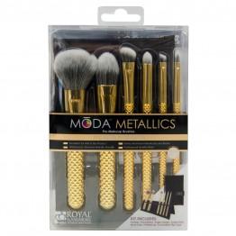 Royal & Langnickel MODA Metallics 7pc Total Face Kit - Gold