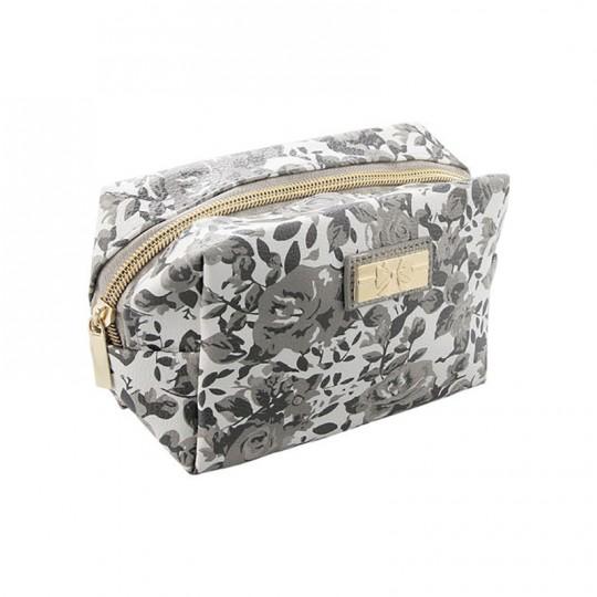 Royal Moonlight Rose Cosmetic Makeup Bag