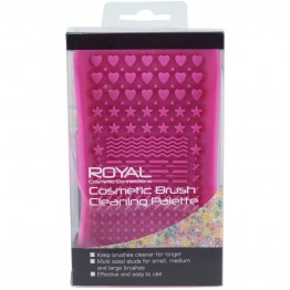 Royal Cosmetic Brush Cleaning Palette