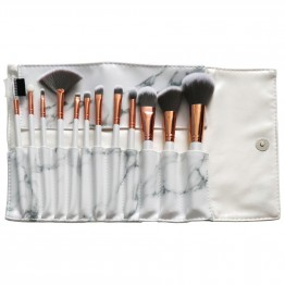 Royal Marble Luxe 12 Piece Brush Set
