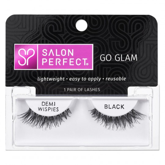 Salon Perfect Go Glam Lashes - Demi Wispies Black
