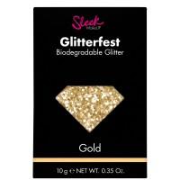 Sleek Glitterfest Biodegradable Glitter - Gold