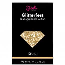 Sleek Glitterfest Biodegradable Glitter - Gold