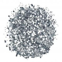 Sleek Glitterfest Biodegradable Glitter - Silver
