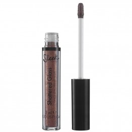 Sleek Shattered Glass Intense Glitter Lip Topper - Onyx Kiss