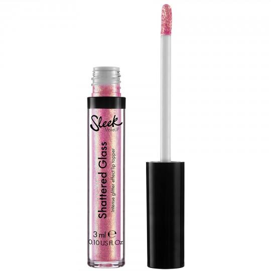 Sleek Shattered Glass Intense Glitter Lip Topper - Hoax
