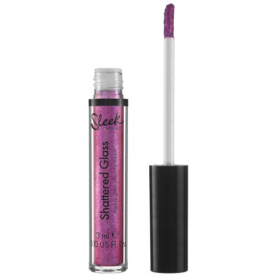 Sleek Shattered Glass Intense Glitter Lip Topper - Acid Kiss