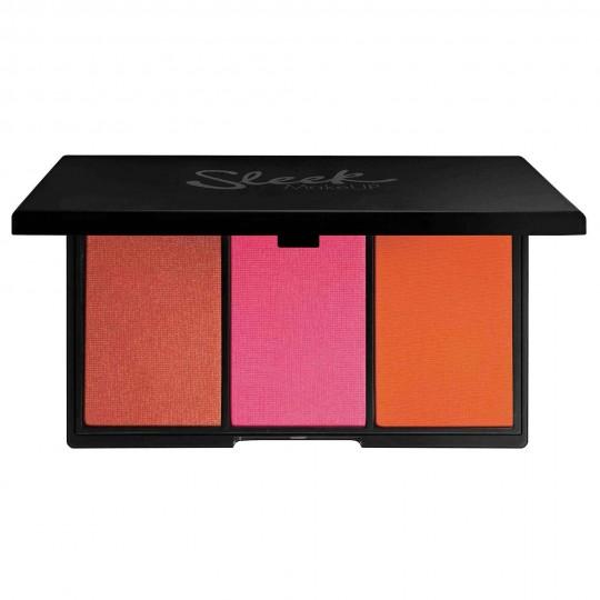 Sleek Blush By 3 Palette - Pumpkin