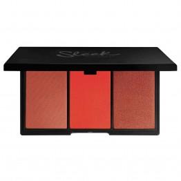 Sleek Blush By 3 Palette - Flame
