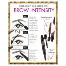 Sleek Brow Intensity - Black