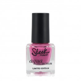 Sleek Aqua Nail Polish - Pink Mirage
