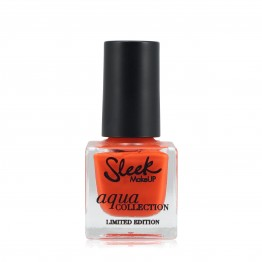 Sleek Aqua Nail Polish - Deep Coral