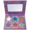Sunkissed Cosmic Stars Glitter Eyeshadow and Highlighter Cream Palette