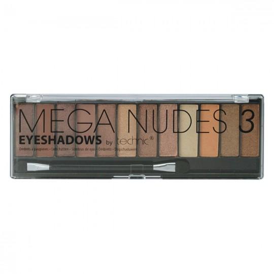 Technic Mega Nudes 3 Eyeshadows