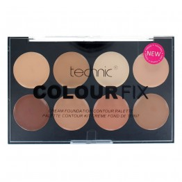 Technic Colour Fix Cream Foundation Contour Palette - Light/Medium