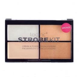 Technic Strobe Kit Cream & Powder Highlighters - Bronze