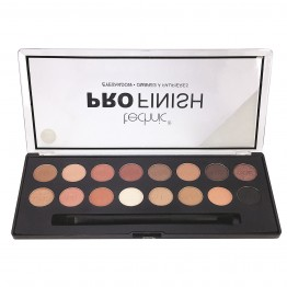 Technic Pro Finish Eyeshadow Palette - Toffee Edition