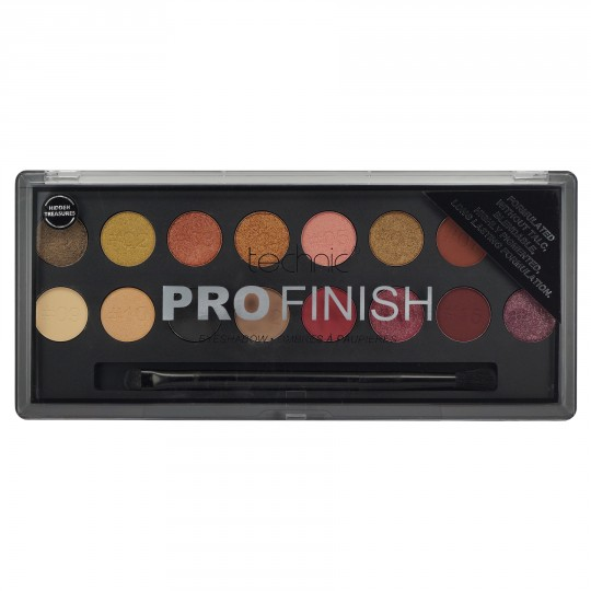 Technic Pro Finish Eyeshadow Palette - Hidden Treasures Edition