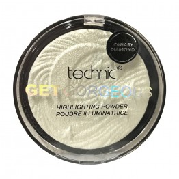 Technic Get Gorgeous Highlighting Powder - Canary Diamond
