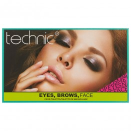 Technic Eyes, Brows, Face Palette
