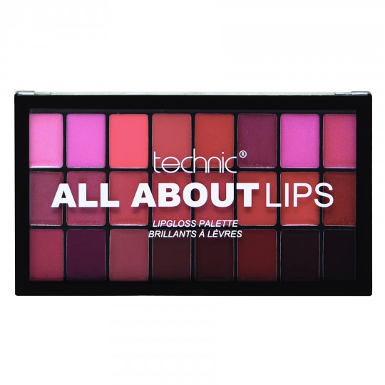 Technic All About Lips Lip Gloss Palette