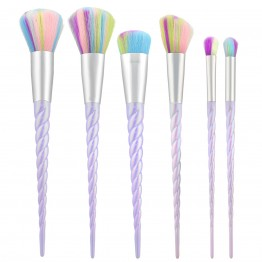 Tools For Beauty 6Pcs Unicorn Brush Set