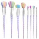 Tools For Beauty 8Pcs Unicorn Brush Set