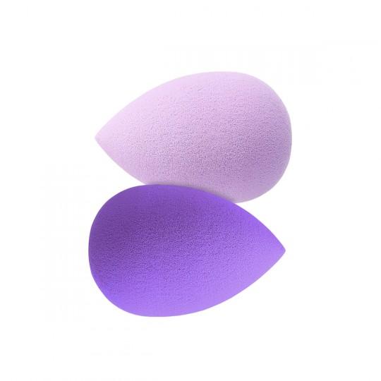 Tools For Beauty Duo Mini Makeup Sponges - Purple