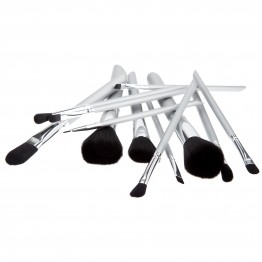 Tools For Beauty 12Pcs Brush Set - Grey