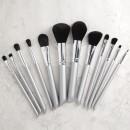 Tools For Beauty 12Pcs Makeup Brush Set - Grey