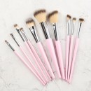 Tools For Beauty 10Pcs Makeup Brush Set - Pink