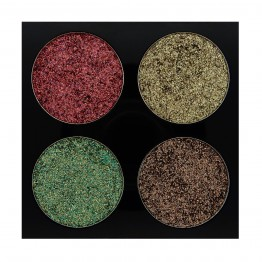 W7 Pressed to Impress Glitter Eyeshadow Palette - In Vogue