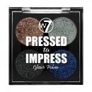 W7 Pressed to Impress Glitter Eyeshadow Palette - Style Icon