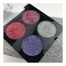 W7 Pressed to Impress Glitter Eyeshadow Palette - All The Rage