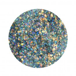W7 Disco Gems Festival Party Glitter Gel Makeup - Night Rider