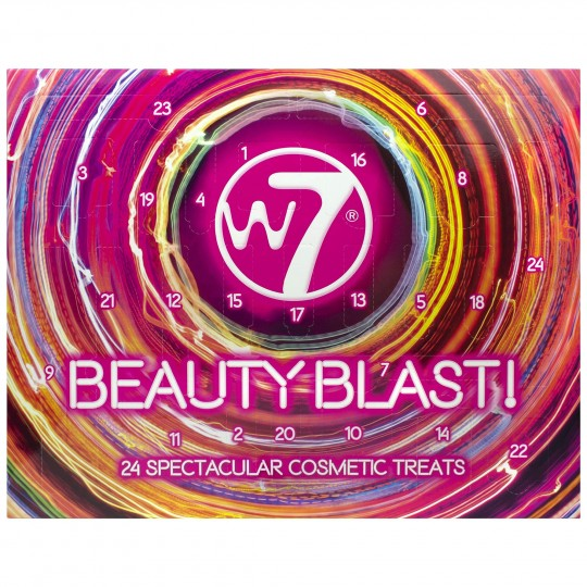 W7 Beauty Blast Cosmetic Advent Calendar 2019