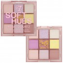 W7 Soft Hues Pressed Pigment Palette - Rose Quartz