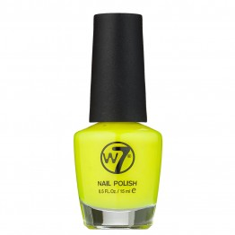 W7 Nail Polish - 16 Fluorescent Yellow