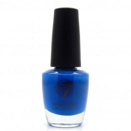 W7 Nail Polish - 17 Fluorescent Blue