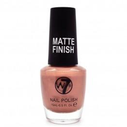 W7 Nail Polish - 131 Matte Rose Gold