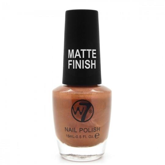 W7 Nail Polish - 146 Matte Copper