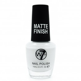 W7 Nail Polish - 148 Matte White