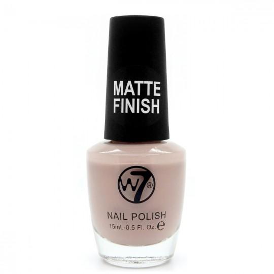 W7 Nail Polish - 153 Matte Beige