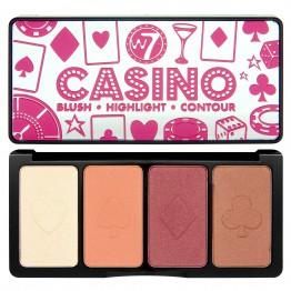 W7 Casino Face Palette