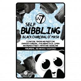 W7 Self-Bubbling Black Charcoal O2 Face Mask