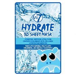 W7 3D Sheet Face Mask - Hydrate