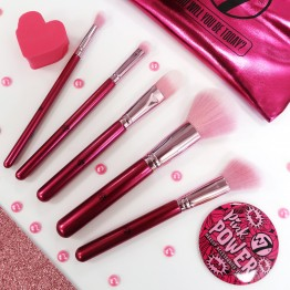W7 Pink Power Makeup Accessories Set