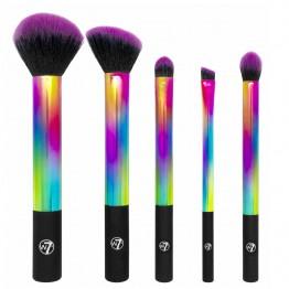 W7 Rainbow Professional Makeup Brush Set