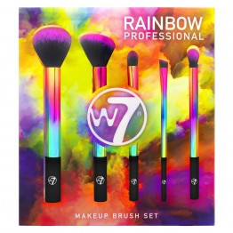 W7 Rainbow Professional Makeup Brush Set