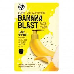 W7 Super Skin Superfood Face Mask - Banana Blast